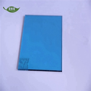 Glass fiber reinforced polycarbonate solid hard plastic sheet price for  roof cover