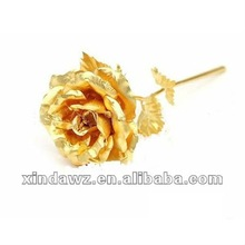 nice gold plated rose for lover