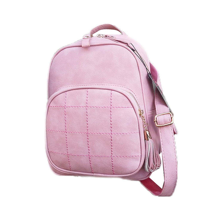 Get Quotations · Cheryl Bull Fashion Embroidery Women Pink Cute Bag PU  Leather Women s Backpacks Female Backpacks 1524 90e39f72b