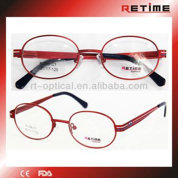 Fashion New Design Small Round Metal Optical Eyeglass Frames For ...
