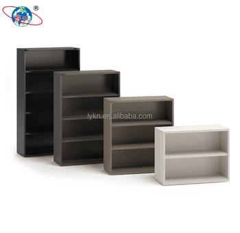 Durable Steel 2 Tier Book Storage Cabinet Mini Metal Bookcase For Home Or  Office