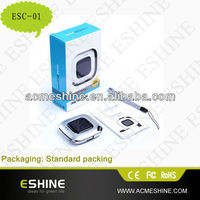 ESC-01 solar battery backup charger for mobile phone with 0.3 W solar panel