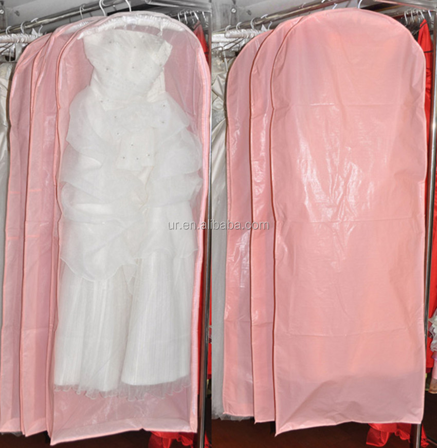 Wedding Dress Dust Cover Bridal Gown Garment Bag - Buy Bridal Gown ...