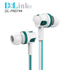 New style Colorful Portable Outdoor Sport Mobile Smartphone Flat Cable 3.5mm Audio Head In-Ear Earphone