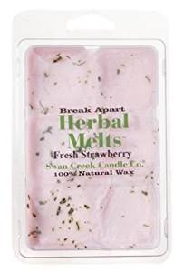 Swan Creek 2223 Swan Creek Candle Co. Herbal Melts Scented Melting Wax - Fresh Strawberry