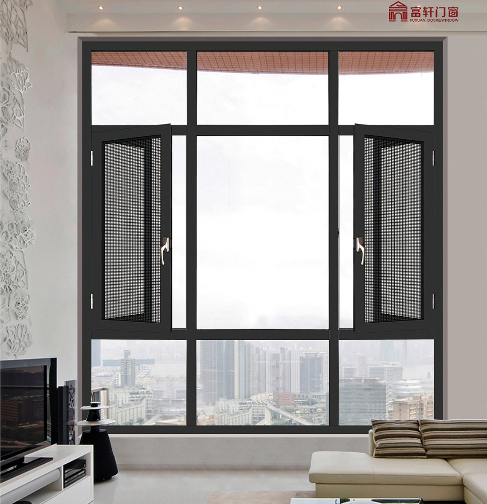 Manufacturer house window mosquito net house window for Cheap house windows for sale