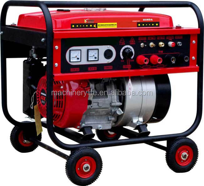 200A IF Internal Combustion Arc Welding Machine Generator with Mitsubishi Engine