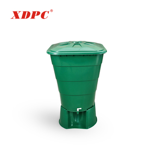 Best price manufacturers easy used 250 liter polyethylene plastic rain water storage barrel tank