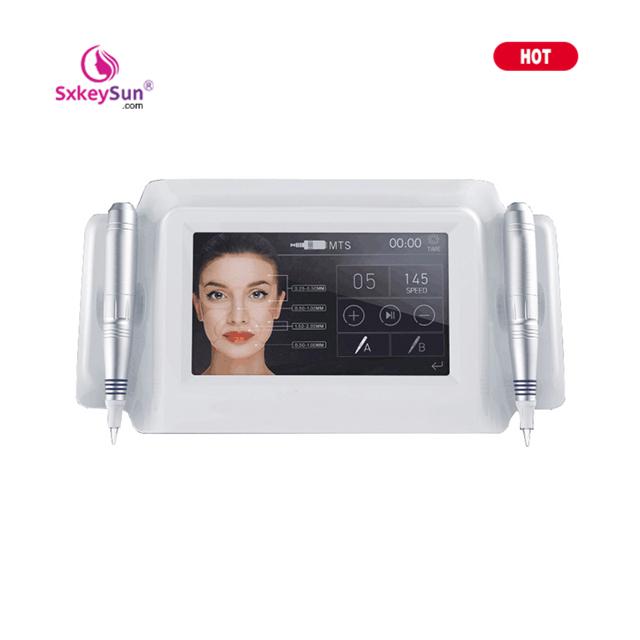 Tattoo Gun Digital Touchscreen Permanent Make-Up Maschine Augenbraue Eyeliner Lip PMU MTS 2 Gun Drehmaschine V8