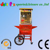 hot sale floor model popcorn maker machine with carts