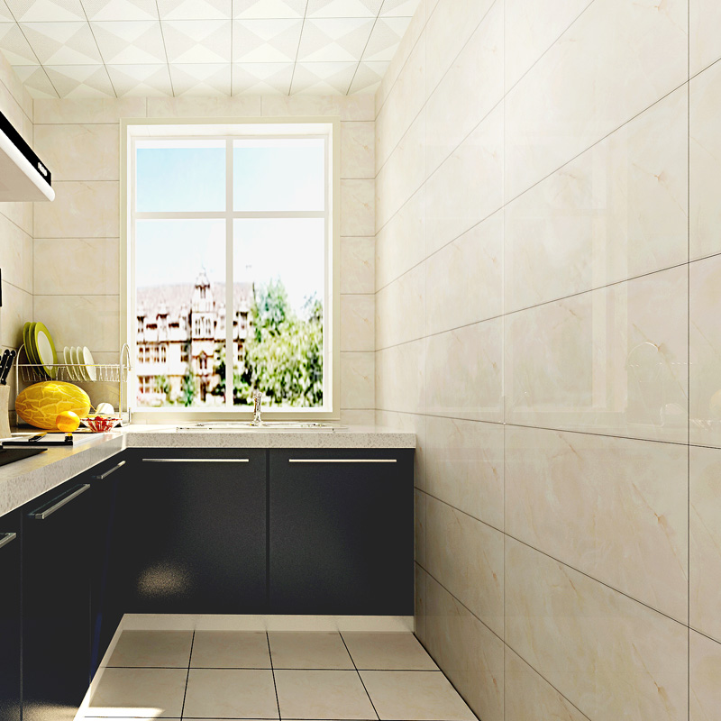 Dubai Ceramic Glazed Wall Tile Designer Kitchen 30x60 Tiles