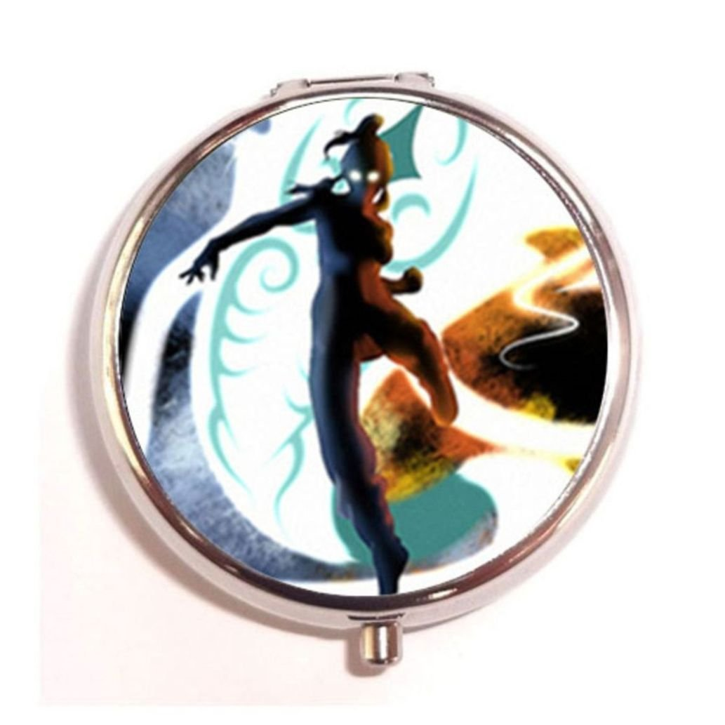 The Legend of Korra Awesome Korra custom round pil box case New Hot Popular Stainless Steel box case