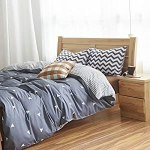 Thinking Gray Bedding Teen Bedding Kids Bedding Dorm Bedding Gift Idea, Queen Size