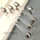 High Qulity Lucite Bar Frosted Assorted Colored Towel Bar Acrylic Bar