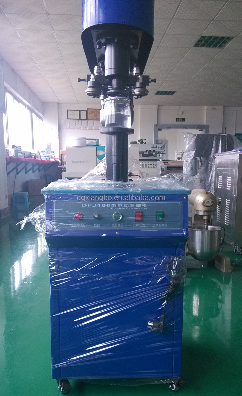 DFJ-160 Pop Top Can Sealing/seaming Machine/alloy Aluminium Cans Seamer