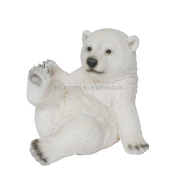 Professional Supply Polyform Indoor Christmas Polar Bears Decoration ...