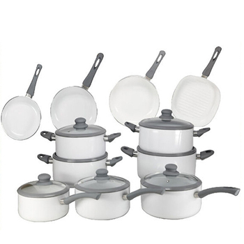 Best Selling 19PCS Non Stick Press Aluminum Cookware Set