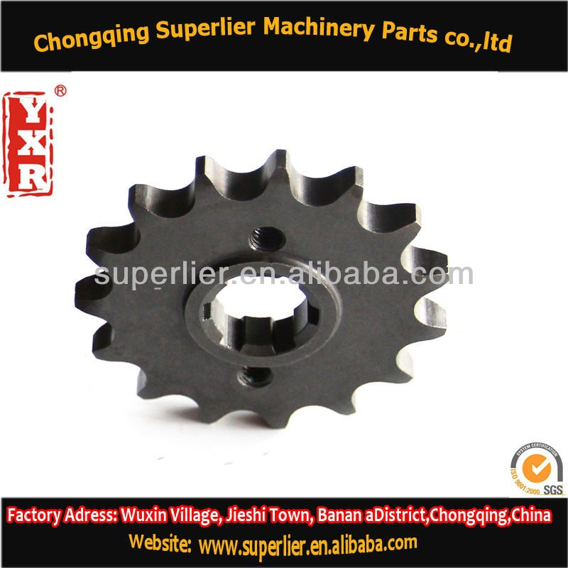 Professional produce electric motor sprocket,CBX 250 TWISTER 13T sprocket,420 and 428 accessories motorcycles