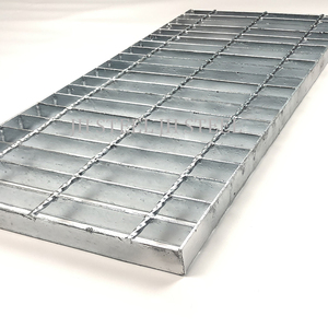 High strength galvanized fisher and ludlow steel grating