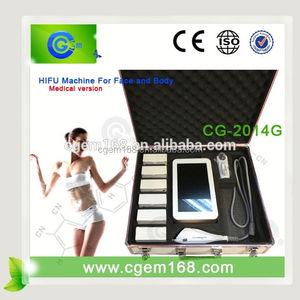 CG-2014G hifu body shape / hifu doublo hironic co / hifu beauty machine