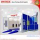 Paint Drying Booth from Yantai Smithde SM-400 /Car Spray Painting Room with CE customer design