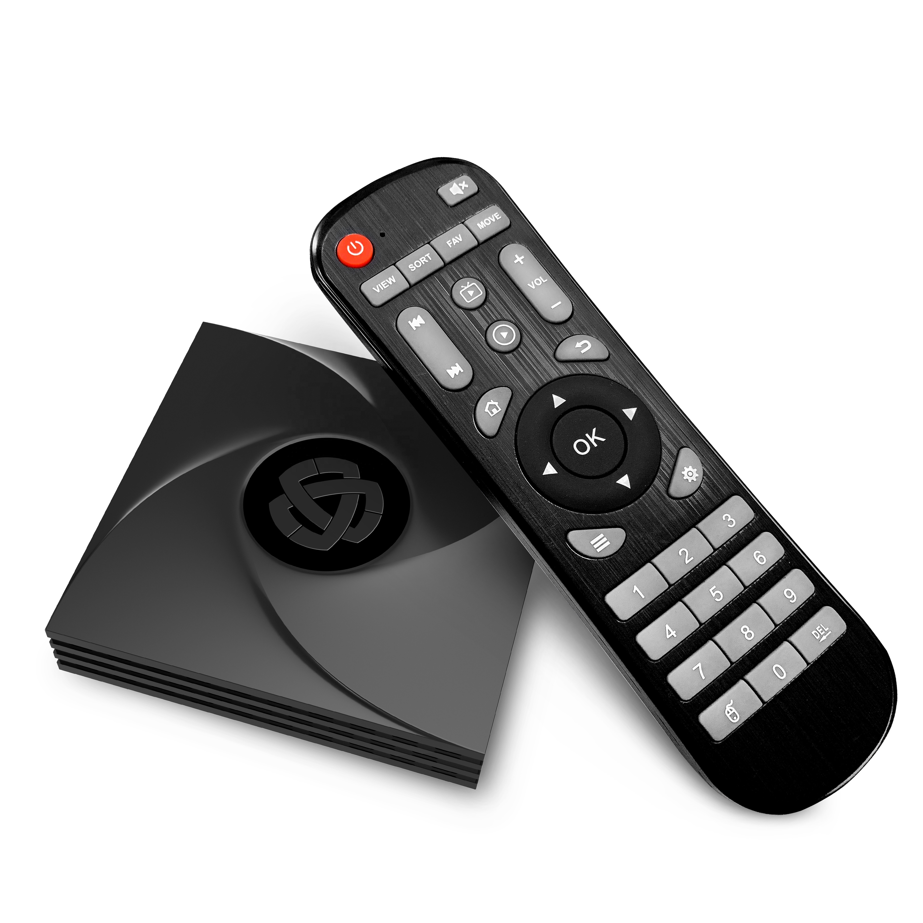 TV BOX Android 9.0 2GB 16GB HLQ RK3328 Quad-Core android tv with Free 24 Hours IPTV test