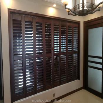 Manchurian ash zebra wooden door shutters & Manchurian Ash Zebra Wooden Door Shutters - Buy Zebra Shutters ... pezcame.com