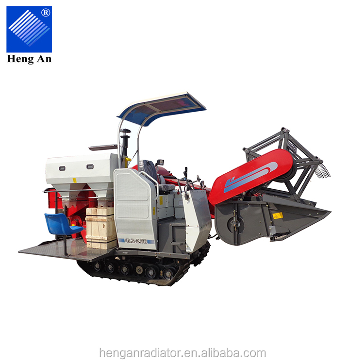Heng An 4LZ-1.0 Mini Rice Combine Harvester