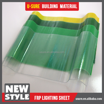 Translucent Fiberglass Roofing Sheets Transparent