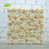 GNW 3ft import china silk flower wall with rose and hydrangea for wedding stage backdrop decoration