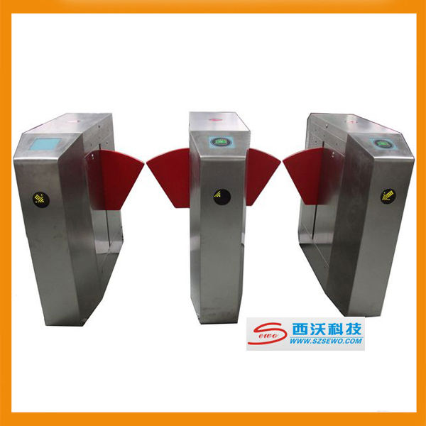 CE Approved Pedestrian Control Barrier,Flap Barrier Gate SEWO Model 5112
