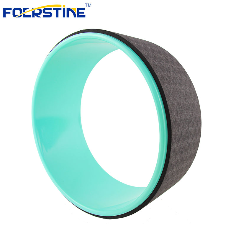 New Design Yoga Sports Accessories Colorful TPE Yoga Wheel
