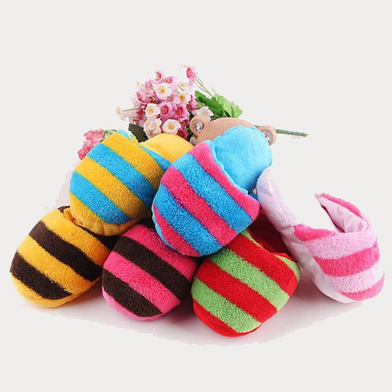 get quotations new arrival cheap pet supplies dog puppy chew play toys rainbow color slipper shape squeaky toys