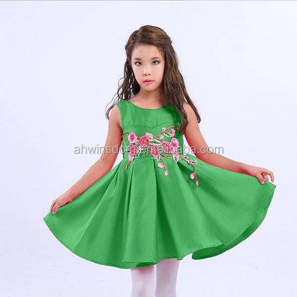 2017 summer GIRL'S princess dress / childrens clothes