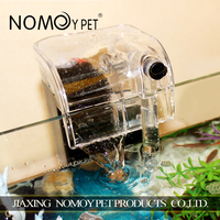 Nomo concise design efficient fish aquarium sponge plugin filter