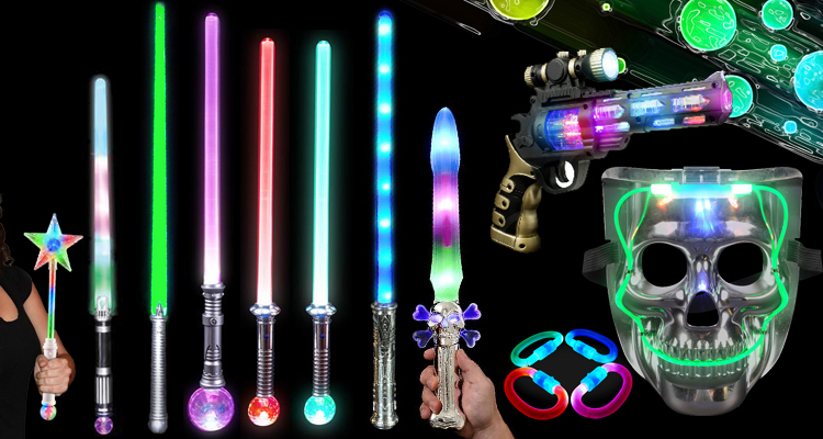 Color changeable Led flashing light up sword