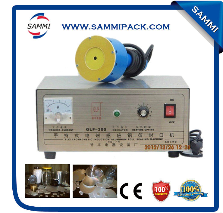 Hot sell glf - 300 manual bottle sealing/plastic bottles caps induction sealing/impulse sealer
