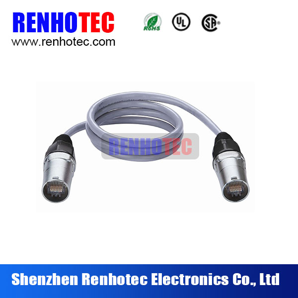 waterproof rj45 coupler female to female cable