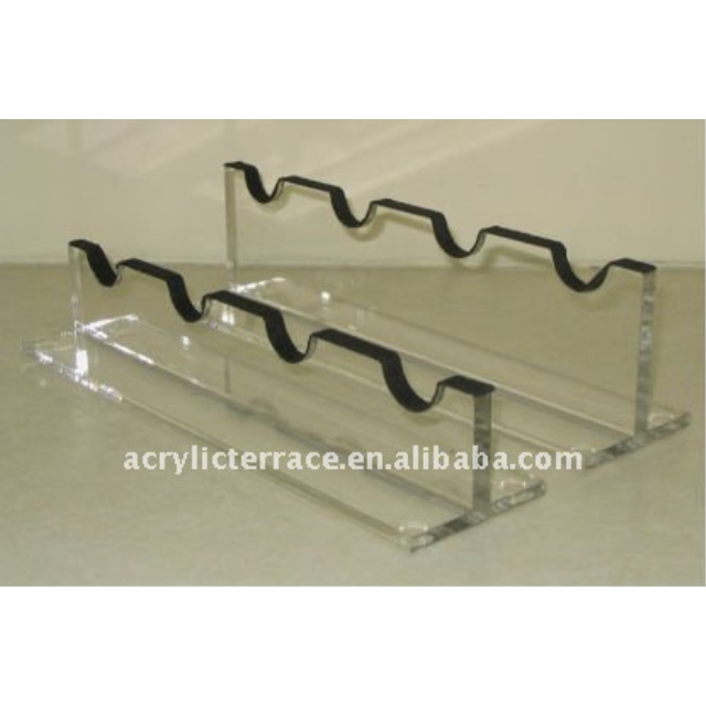 Acrylic Gun Scope Display Stand For 4 Scopes