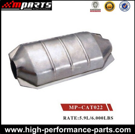 Performance Motorcycle Ceramic Universal Catalytic Converter