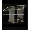 Crystal Acrylic Tabletop Lectern/desktop podium
