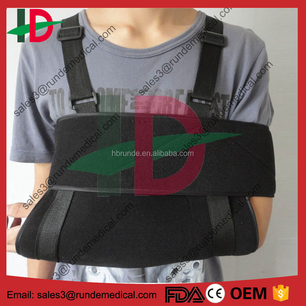 Shoulder Immobilizer & Arm Sling by Soles - Breathable, Lightweight & Adjustable Neoprene - Soft, Comfortable Support