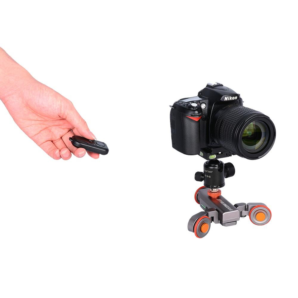YELANGU Autodolly L4 Electric Camera Slider Motorized For Dslr Smartphone A7 A9