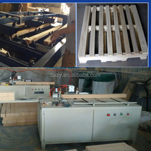 2015 best selling automatic wooden pallet making machine /wood pallet production line