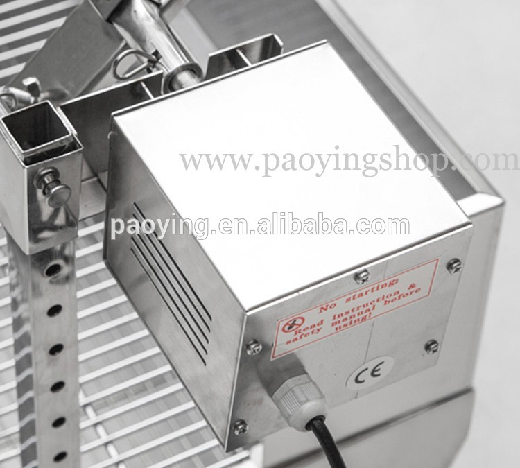 60kg 89cm Commercial Stainless Steel Charcoal Barbeque Pig Hog Roasting Machine
