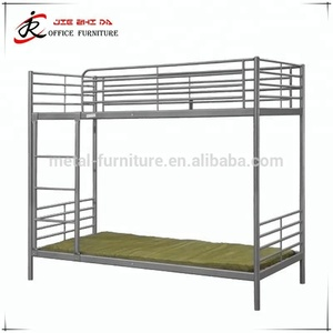 2014 new design hotel metal industrial metal bunk beds suppliers student/military metal bunk bed with locker