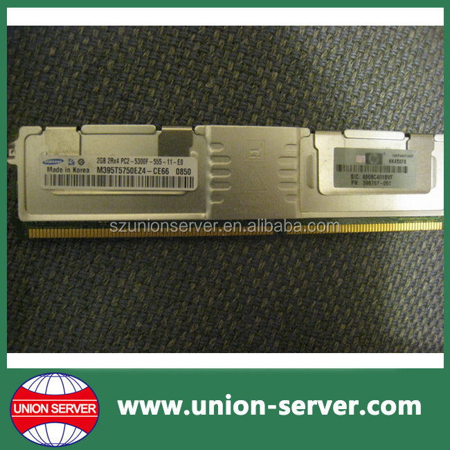 398707-051 4GB (2x2gb) PC2-5300 DDR2 Proliant Memory RAM Kit For hp