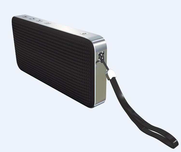 Text to speech Multifunction Bluetooth Speaker with Powerbank