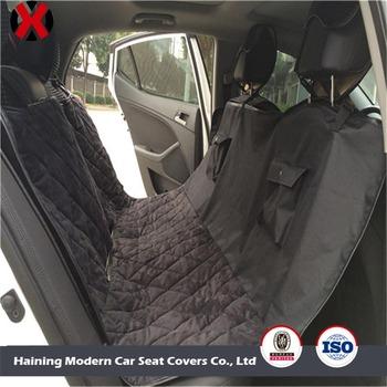Microsuede Back Seat Protector Dog Car Cover Waterproof Hammock Pet Cargo Liner