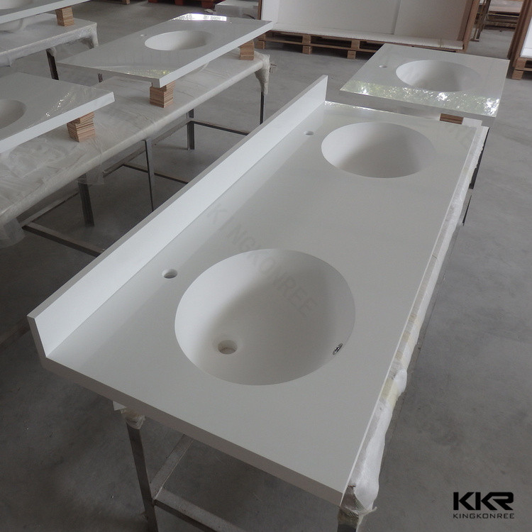 Solid Surface Vanity Top Bathroom Antique White Vanities